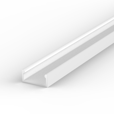 1 Metre Recessed/Surface White LED Profile P4 (15mm x 7mm)
