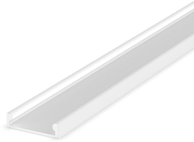 1 Metre Recessed/Surface White Low Profile LED Profile P4-3 (15mm x 4mm)