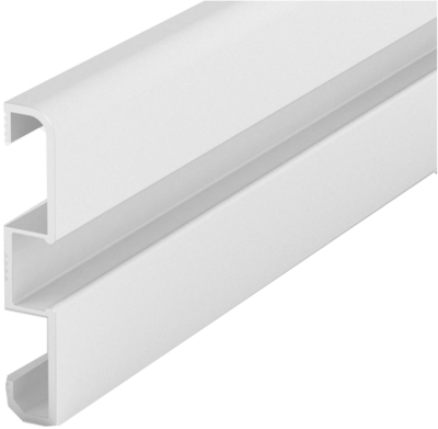 1 Metre Skirting LED Profile P15 (58mm x 10mm)