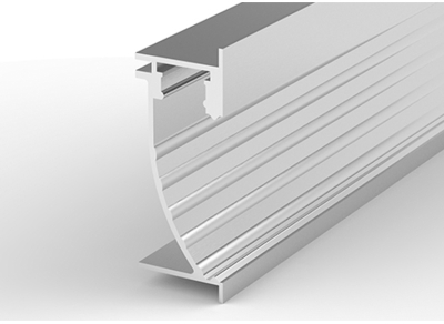 1 Metre Wall Recessed Aluminium LED Profile P26-2 (25mm x 60mm)