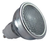 This is a 20 W GX10 bulb that produces a Warm White (830) light which can be used in domestic and commercial applications