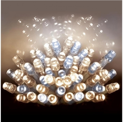 1000 LED Multi Action TREEbrights Warm White/White (For 7ft Tree)