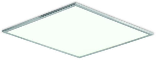 aurora dimmable led panel cool white 110 240v ip44 40w 600x600mm