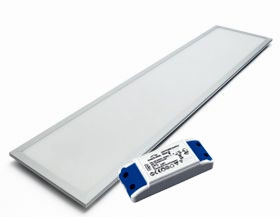 1195mm x 295mm 40W LED Panel (3000K) Driver Included