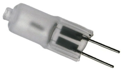 12 Volt Halogen Capsule Frosted Lamp G4 20 watt