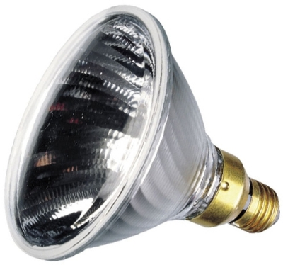 This is a 120W 26-27mm ES/E27 Reflector/Spotlight bulb that produces a Warm White (830) light which can be used in domestic and commercial applications