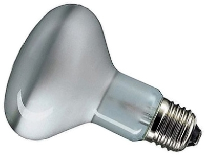 This is a 150W 26-27mm ES/E27 Reflector/Spotlight bulb that produces a Infra Red light which can be used in domestic and commercial applications