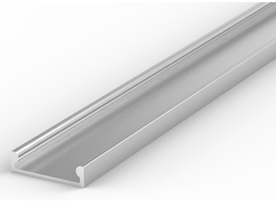 2 Metre Recessed/Surface Aluminium Low Profile LED Profile P4-3 (15mm x 4mm)