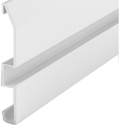 2 Metre Skirting LED Profile P16 (80mm x 10mm)