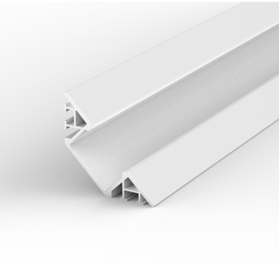 2 Metre Surface Mounted Corner White LED Profile P7 (31.87mm x 4mm)