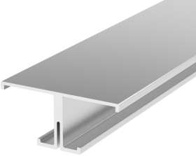 2 Metre T Shaped Aluminium LED Profile P9 (40mm x 18mm)