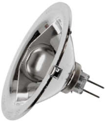 This is a 20W G4 (4mm Apart) Reflector/Spotlight bulb that produces a White (835) light which can be used in domestic and commercial applications