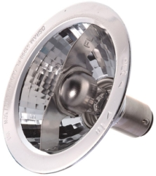 This is a 20W 15mm Ba15d/SBC Reflector/Spotlight bulb that produces a White (835) light which can be used in domestic and commercial applications