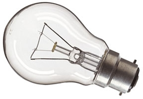 This is a 25W 22mm Ba22d/BC Standard GLS bulb that produces a Clear light which can be used in domestic and commercial applications