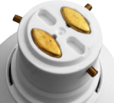 This is a 22mm BC-3 Pin light bulb cap base