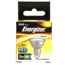 5 Watt Energizer High Tech LED Warm White 350lm 36° GU10