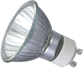 50 Watt Halogen GU10 Par16 (36 degree Beam) 5000 Hour Version