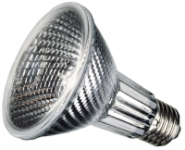 This is a 50W 26-27mm ES/E27 Reflector/Spotlight bulb that produces a Warm White (830) light which can be used in domestic and commercial applications