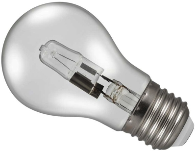 53W (85 Watt Alternative) Energy Saving Halogen Standard Shape (GLS) ES