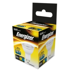 5.5 Watt Dimmable Energizer LED Cool White 360lm 36° GU10