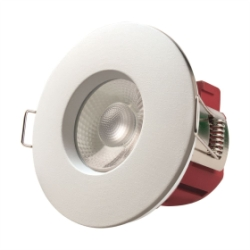 5.5W White IP65 Fire Rated Warm White Downlight