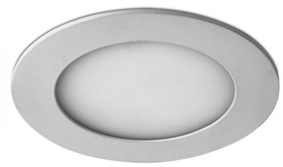 6W 120mm Diameter LED Round Panel (Daylight)