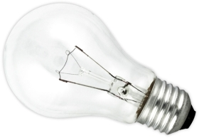 This is a 75W 26-27mm ES/E27 Standard GLS bulb that produces a Clear light which can be used in domestic and commercial applications