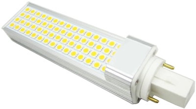 This is a 7 W G24d/Q-1 PLC bulb that produces a Cool White (840) light which can be used in domestic and commercial applications