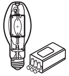This is a 70 W 26-27mm ES/E27 Eliptical bulb that produces a White (835) light which can be used in domestic and commercial applications