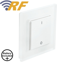 ALL LED Decorative RF Transmitter Switch - Includes Battery