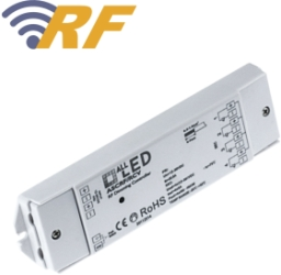 ALL LED RF Dimming Control Receiver 12V and 24V Strips