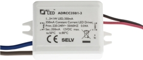 All LED 1-3 x 1w LED Driver (350mA Constant Current)