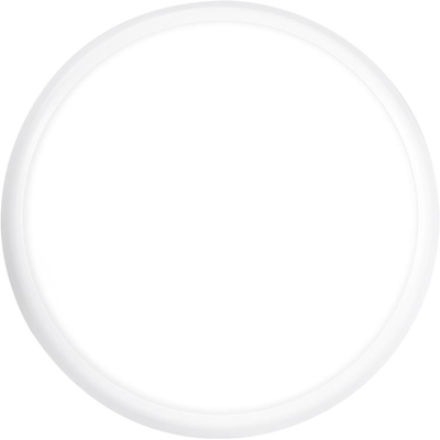 Aurora 240V IP54 Round Polycarbonate 18W 1620lm Emergency LED Bulkhead