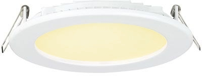 Aurora 24V DC Fixed 13W Round Panel LED Downlight White Warm White