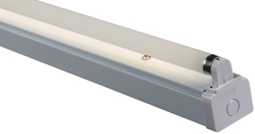 Batten 18 Watt Single T8 Fluorescent Fitting (High Frequency)