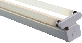 Batten 2x18 Watt Twin T8 Fluorescent Fitting (High Frequency)