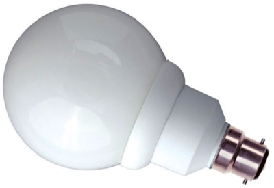 Bell Energy Saving 15W BC Globe Very Warm White (75 Watt Alternative)