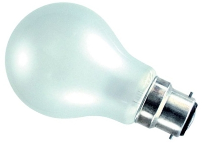 This is a 10 W 22mm Ba22d/BC Standard GLS bulb that produces a Pearl light which can be used in domestic and commercial applications