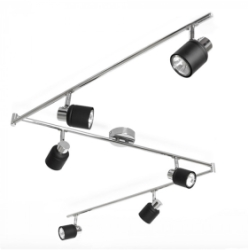 Brenton 6-Way Flexi Z Spotlight Black