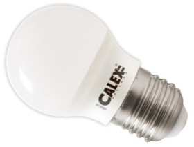 Calex 240V 3W LED Ball Lamp 250lm 2700K Warm White E27