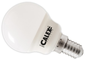 Calex 240V 3W LED Ball Lamp 470lm 2700K Warm White E14