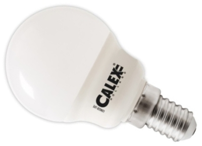 Calex 240V 5W LED Ball Lamp 470lm 2700K Warm White E14