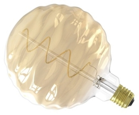 Calex Bilboa 240V 4 Watt Gold Dimmable LED Lamp 2100K Very Warm White