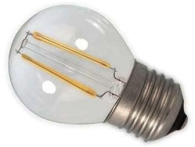 Calex Dimmable LED Filament 3.5W Golfball ES Very Warm White Clear (30 Watt Alternative)