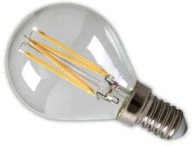 Calex Dimmable LED Filament 3.5W Golfball SES Very Warm White Clear (30 Watt Alternative)