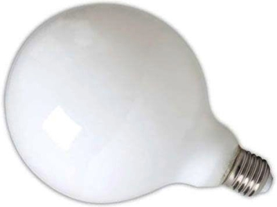 Calex Dimmable LED Filament 6W Globe G125 ES Very Warm White Frosted (60 Watt Alternative)