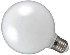 Calex Dimmable LED Filament 6W Globe G95 ES Very Warm White Frosted (60 Watt Alternative)