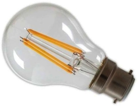 Calex Dimmable LED Filament 7W GLS BC Very Warm White Clear (60 Watt Alternative)