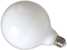 Calex Dimmable LED Filament 8W Globe G125 ES Very Warm White Frosted (90 Watt Alternative)