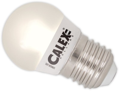 This is a 5.5W 26-27mm ES/E27 Golfball bulb that produces a Very Warm White (827) light which can be used in domestic and commercial applications